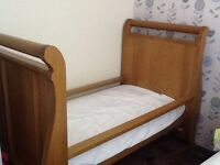 Boori sleigh cot bed / day bed