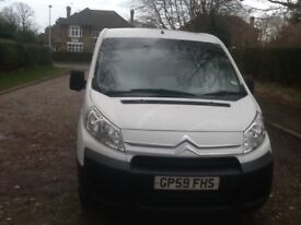 CITROEN DISPATCH 2010 LWB HDI 3 SEATER CAB TWIN S/ L DOORS BULKHEAD ELECTRIC WINDOWS CLEAN V/ ECON