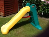 Little Tikes, easy store, large colourful play Slide, ' Sunshine'.