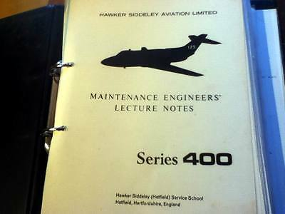 Hawker Siddeley HS 125-400 Series Maintenance Engineers Lecture Notes Manual