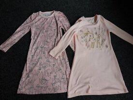 Girls nightwear bundle age 6-7