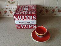 Whittard espresso cups