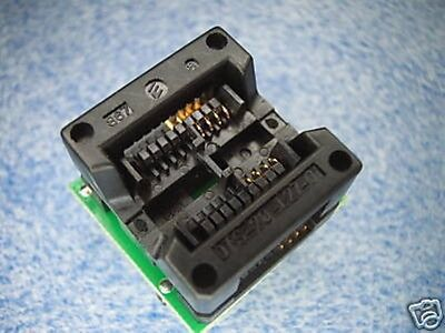 Sop8 Wide Dip20 Adapter Xeltek Wellon At26df161 200mil