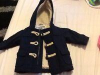 Baby boys next thick coat