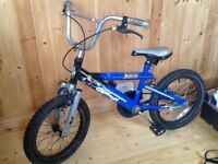 Boys Atom bike for 4-6 yr old