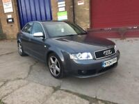 2004 AUDI A4 1.9 TDI SPORT 130 6 SPEED LONG MOT £1000