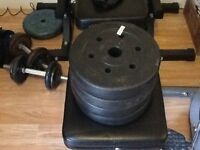 2.5kg weights x Four