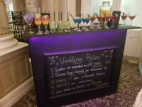 Mobile cocktail bar for hire