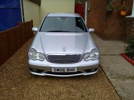 2006 sport edition saloon mercedes benz c-class very good condition