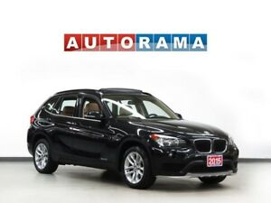 2015 BMW X1 AWD NAVIGATION LEATHER SUNROOF  BLUETOOTH