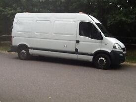 VAUXHALL MOVANO LWBASE HIGHROOF 3500KG 2.4CDTI MOT JULY 2017 WITH OLD MOT HISTORY 2 F/KEEPERS CLEAN