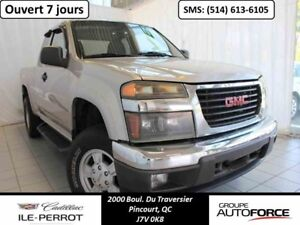 2007 GMC CANYON 4WD EXTENDED CAB SL