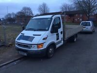 Iveco daily 35/12 3.5to 2.3hpi lwb 15ft \\width 7ft alloy drop side 78k mileage