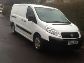 FIAT SCUDO 2012 RARE EXTENDED LW BASE 2.0 / 6 SPEED TWIN SLD AIR CONDITIONER ELECTRIC WINDOWS V/CLN