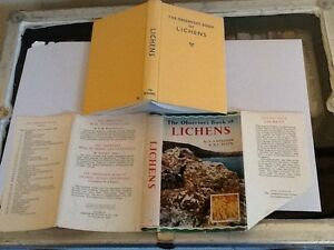 Observer book of lichens 1966 rare mc version