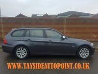 **BMW 318D TOURING*** 1 YEARS MOT, FSH, FULL LEATHER, 3 MONTH WARRANTY, ONLY £3695 **