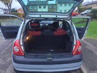 Renault Clio 1.2l petrol (manual Gear Box)