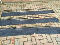 3 x JRC D fishing rods (12ft, 2.75lb), £120