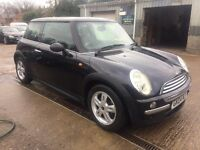 ** NEWTON CARS ** 04 MINI ONE 1.4D, 3 DOOR, GOOD OVERALL, FSH, ALLOYS, MOT MAR 2018, P/EX POSS, CALL