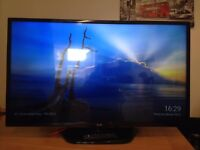 42 inch LG led freeview tv