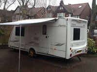 2006 Elddis Odyssey 482 tourer with all accessories motor mover sun awning bradcot awning
