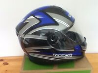 takachi full face motorcycle helmet never used