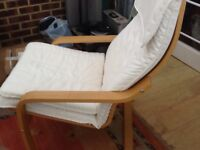 Comfortable chair suitable for lounge or conservatory