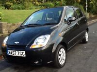 2007 CHEVROLET MATIZ 1.0 GS SE 5 DOOR WITH LOW LOW MILEAGE AND 12 MONTHS WARRANTY INCLUDED