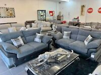 BRAND NEW LUXURY LOGAN CORNER OR 3 +2 SOFA SET AVAILABLE IN STOCK