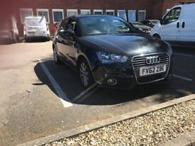 Black Audi A1 for sale. 1.6TDI, 72k miles and no road tax required.