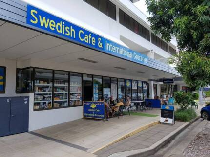 Cafe with Grocery store
