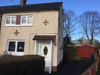 2 Bedroom, end terrace house with Garage, Carmyle area of Glasgow For sale £90k