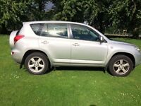 Toyota RAV4, very good condition, got a new company car which forces sale.