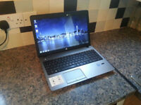 "HP ProBook 450 15.6"" LAPTOP, FAST CORE i7 2x 3.60GHz, 8GB, SSD256, DVDRW, WIFI, WEBCAM, HDMI, BLUET"