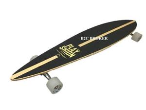 Playshion Pintail Cruising Longboard Skateboard Complete 42 Inch - Ship across Canada