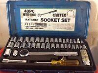 Cartex 40 piece Ratchet Socket set