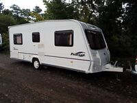 Bailey Pageant Bordeaux 4 berth caravan 2006 FIXED BED, MOTOR MOVER, Awning !!