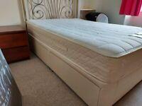 Doubke Divan, 4 Drawers, mattress, Headboard