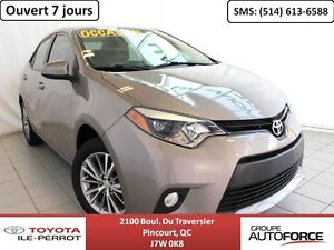 2014 Toyota Corolla LE UPGRADE, A/C, TOIT OUVR, CAM RECUL, BLUET
