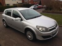 2004 54 Reg Vauxhall Astra 1.8 Life, Petrol, Automatic, 5 Door, Met Silver, Just 65,00 Miles, FSH