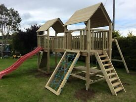 Double Tower Climbing frame (Brand New)
