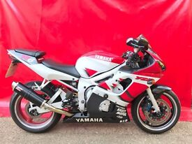 YAMAHA YZF-R6 5EB 2000 ONLY 15K MILES LONG MOT VERY CLEAN BIKE 4K IN RECIEPTS