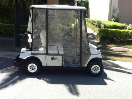Great golf cart/buggy AND trailer!