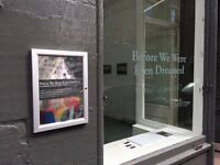 Gallery space available for exhibitions and events