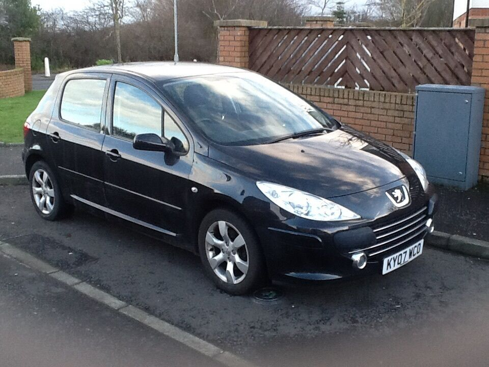 307 automatic 2007 peugeot 307 s auto 5dr 46000 miles immaculate throughout drives like new. Black Bedroom Furniture Sets. Home Design Ideas