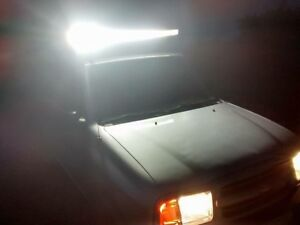 """Roof Rack With 52"""" Light Bar"""