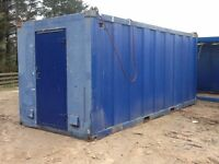 20ft INSULATED STEEL CONTAINER, OFFICE, STORE, SHED, ACCOMMODATION