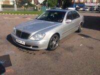 Mercedes s320cdi long fully loaded