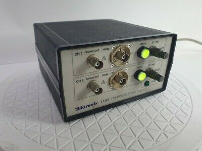 Tektronix 1103 Probe Power Supply Oscilloscope Powers Up To Two Probes