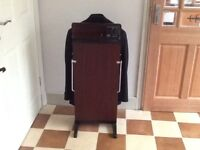 Corby classic trouser press. Mahogany coloured. Excellent condition